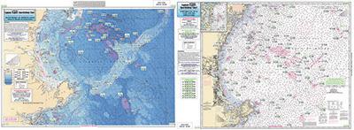 Ca201 Bathymetric Cape Ann To Jeffreys Ledge Bathymetric Charts