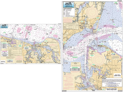 Small Boat and Kayak: Cape Henry, Lynnhaven Bay to Hampton Roads, VA