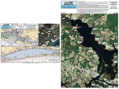 Small Boat and Kayak: Bogue Sound and Bogue Inlet and White Oak River, NC